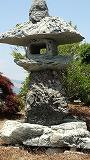 160-桃取り石の寄せ燈篭